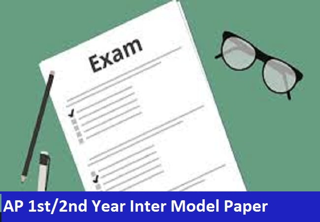 AP 1st/2nd Year Inter Model Paper