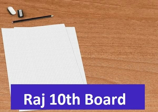 Raj Board 10th Syllabus Model Paper